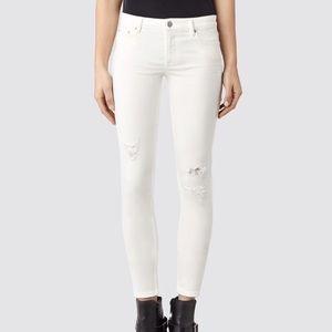 All Saints Mast Distressed Skinny Jeans